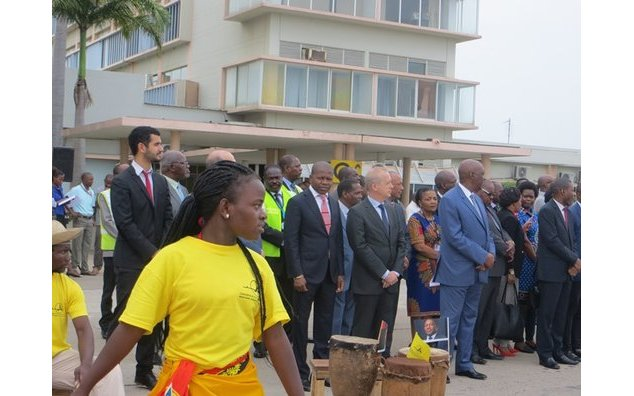 Inaugurationde la piste de l´Aéroport international de Maputo.